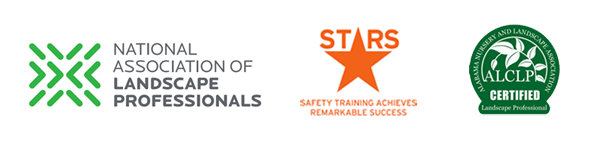 Accreditations - ALCLP - National Association of Landscape Professionals - Stars