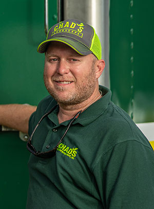 Chad Hanson - Founder, Chad's Landscape Management